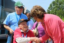 Walorski Welcomes Northern Indiana WWII Veterans on Honor Flight to DC