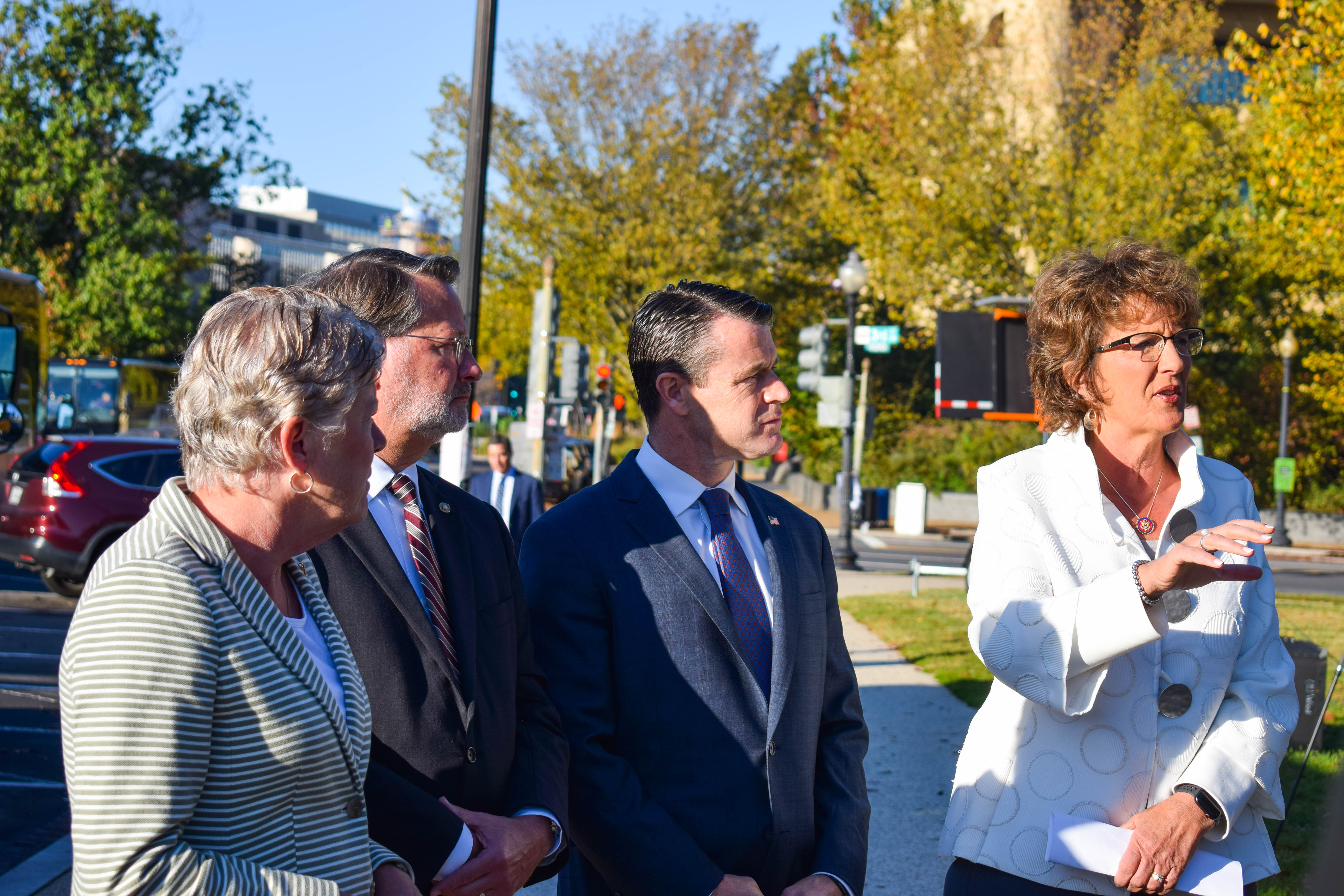 Walorski Joins Sponsors of STOP for School Buses Act to View Demo of Bus Safety Technology 1
