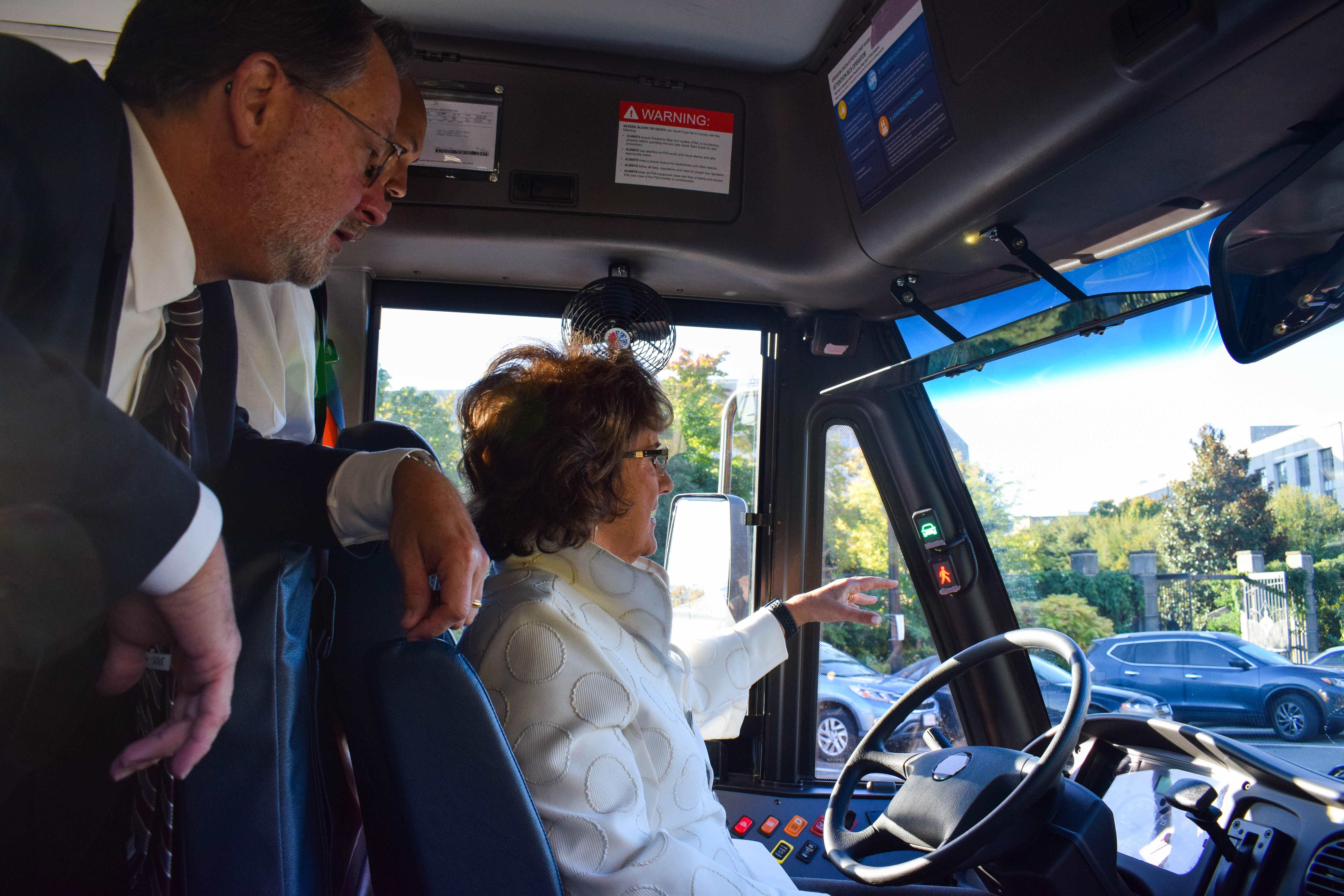Walorski Joins Sponsors of STOP for School Buses Act to View Demo of Bus Safety Technology 2